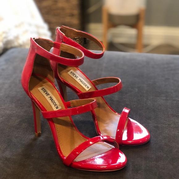 db57d5786b3 Red Strappy Heels